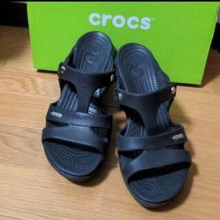 crocs - CROCS サイプラスヒール W8
