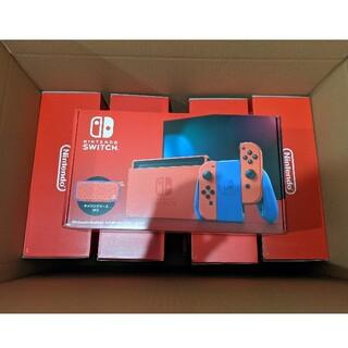 Nintendo Switch - 任天堂Switch マリオレッド新品未開封×9台