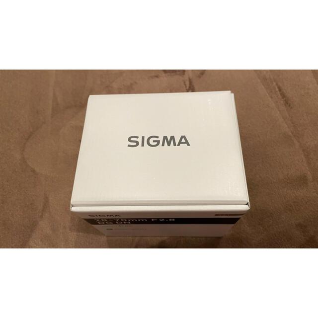 SIGMA(シグマ)のSIGMA 28-70mm F2.8 DG DN Contemporary スマホ/家電/カメラのカメラ(レンズ(ズーム))の商品写真