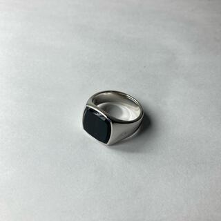 マルタンマルジェラ(Maison Martin Margiela)のTOM WOOD トムウッド ブルーホークアイ シルバーリング 24号(リング(指輪))