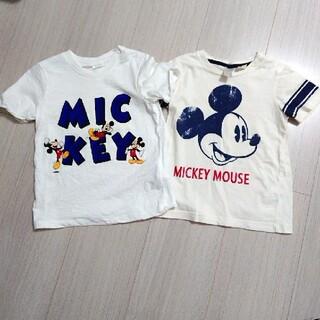 H&M - ◇H&M◇ミッキー夏トップス二枚セット80