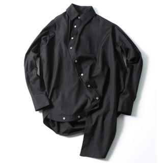 ANREALAGE - 【新品】アンリアレイジ ANREALAGE ボールシャツ ブラック 変形 48