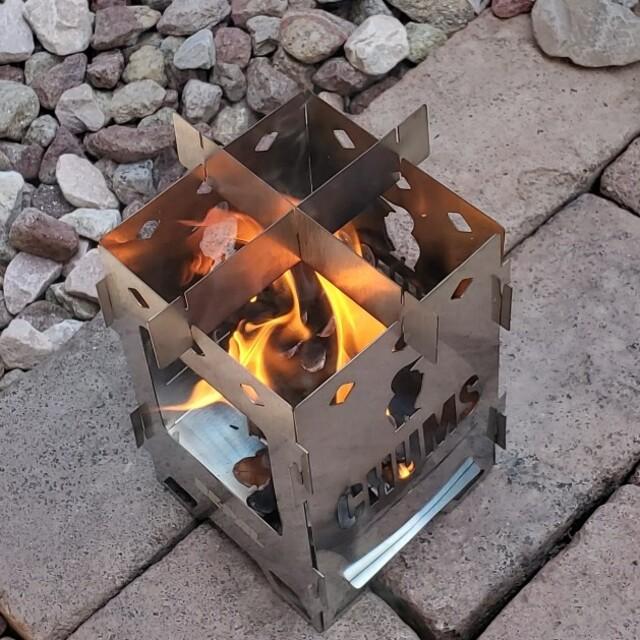 CHUMS(チャムス)のビ-パル7月号CHUMS焚き火台付録 スポーツ/アウトドアのアウトドア(その他)の商品写真