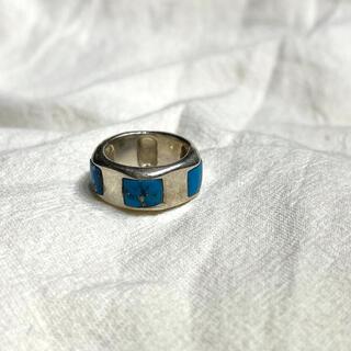 マルタンマルジェラ(Maison Martin Margiela)のvintage SILVER925 シルバー925 ターコイズ リング 指輪(リング(指輪))