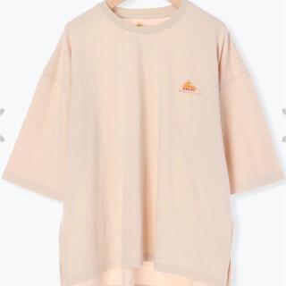 SM2 - 【新品】サマンサモスモス 【KELTY別注】ドロップショルダーTシャツ キナリ