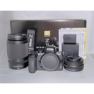 ニコン(Nikon)の【新品級!!】Nikon Z50 ダブルズーム 16-50 50-250mm(ミラーレス一眼)
