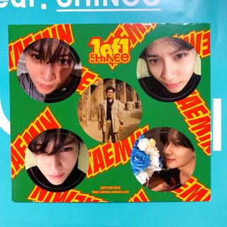 シャイニー(SHINee)のSHINee 1of1 メンコ  テミン(アイドルグッズ)
