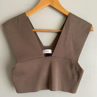 HYKE - HYKE  ハイク ビスチェ sweater top