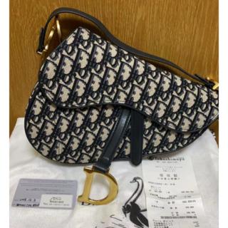 Christian Dior - クリスチャン ディオール トロッター柄 サドルバッグ