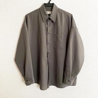 Marni - MARNI 19AW トロピカルウールシャツ