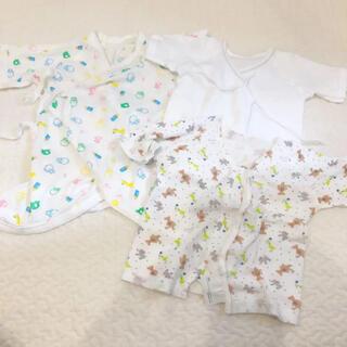 コンビミニ(Combi mini)の新生児肌着 短肌着 コンビ肌着(肌着/下着)