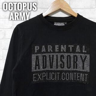 オクトパスアーミー(OCTOPUS ARMY)のOCTOPUS ARMY ペアレンタル・アドバイザリー Tシャツ ロングスリーブ(Tシャツ/カットソー(七分/長袖))