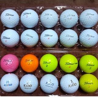 タイトリスト(Titleist)のタイトリスト ゴルフボール16個 ゼクシオ4個 20個セット(その他)