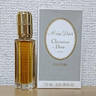 クリスチャンディオール(Christian Dior)の未使用 ★ ミス ディオール   7.5ml パルファム   (香水(女性用))