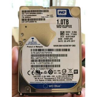 【中古】WD10JPVX-16JC3T3 1000.2 GB(PCパーツ)