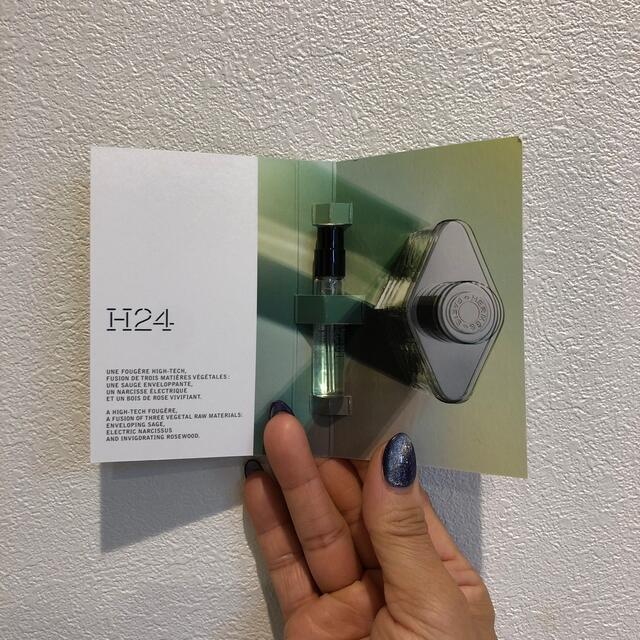 Hermes(エルメス)のH24 オードトワレ エルメス  サンプル コスメ/美容のキット/セット(サンプル/トライアルキット)の商品写真