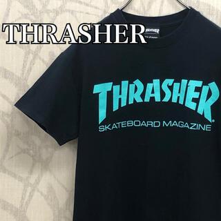スラッシャー(THRASHER)の【激レア】スラッシャー Tシャツ 半袖 ビッグロゴ ブラック(Tシャツ/カットソー(半袖/袖なし))