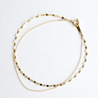 ete - Jewel closet by L&Co.K10 イエローゴールド ブレスレット
