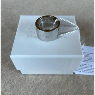 マルタンマルジェラ(Maison Martin Margiela)のM新品 メゾン マルジェラ カレンダーロゴ リング ポリッシュ 指輪 メンズ(リング(指輪))