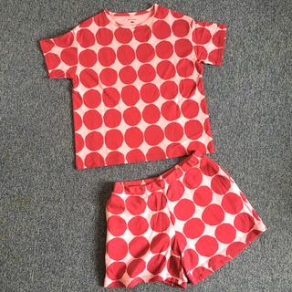 marimekko - marimekko UNIQLO Tシャツとショートパンツのセットアップ
