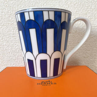Hermes - 【新品 未使用】エルメス ブルーダイユール マグカップ No.3