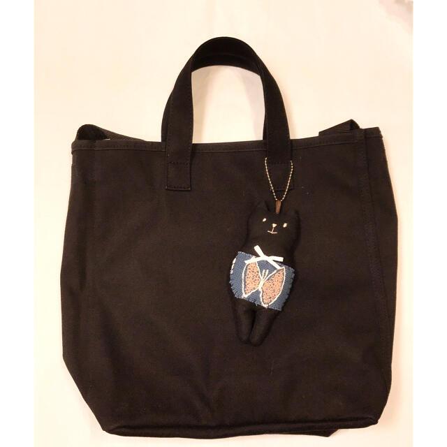 mina perhonen(ミナペルホネン)のねこねこチャーム ハンドメイド ミナペルホネン 33 ハンドメイドのファッション小物(バッグチャーム)の商品写真