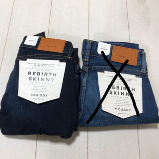moussy - Jeans Side 27 MOUSY 下げ 中
