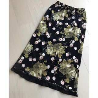 カネコイサオ(KANEKO ISAO)の☆美品 カネコイサオ 裾レーススカート(ロングスカート)