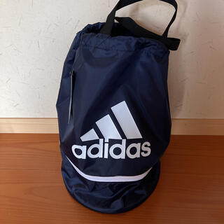 アディダス(adidas)のadidasプールバック 紺(その他)