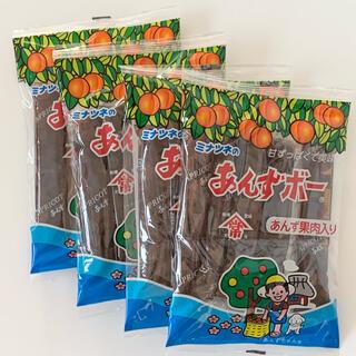 【新品未開封】 ミナツネのあんずボー 5本入り 4袋セット《送料込》(菓子/デザート)