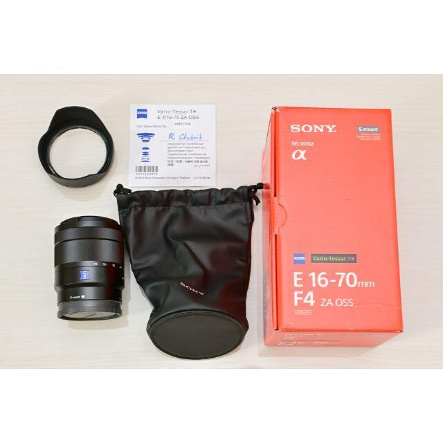 SONY(ソニー)の即日発送 Vario-Tessar T* E 16-70mm F4 ZA OSS スマホ/家電/カメラのカメラ(レンズ(ズーム))の商品写真