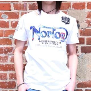ノートン(Norton)のSALE!!7689円→4990円新品NORTONノートンブルースチールT(Tシャツ/カットソー(半袖/袖なし))