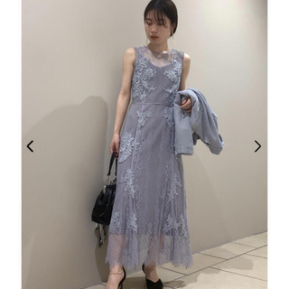 FRAY I.D - レースアップモチーフドレス