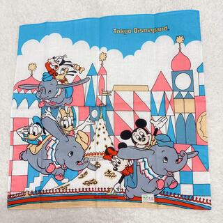 Disney - ♬未使用♬希少♬レトロ♬東京ディズニーランド♬空飛ぶダンボ♬ハンカチ♬
