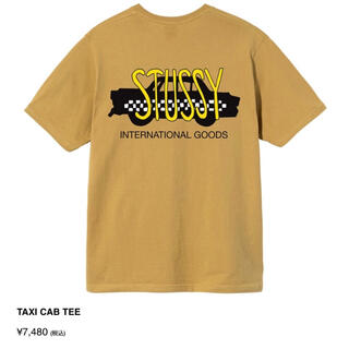 STUSSY - STUSSY TAXI CAB TEE