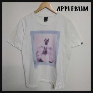 アップルバム(APPLEBUM)の【美品】APPLEBUM 半袖Tシャツ カットソー フォト ヒップホップ(Tシャツ/カットソー(半袖/袖なし))