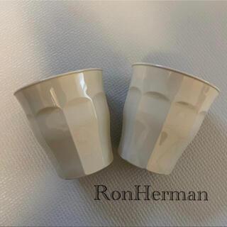 Ron Herman - ロンハーマン RonHerman DURALEX ペアグラス コップ グレー