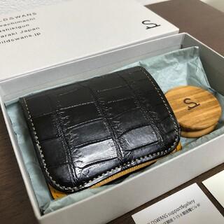 新品 ワイルドスワンズ財布パーム クロコダイル