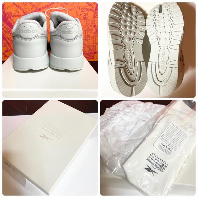 Maison Martin Margiela(マルタンマルジェラ)の【24cm】MAISON MARGIELA REEBOK Tabi グレー② レディースの靴/シューズ(スニーカー)の商品写真