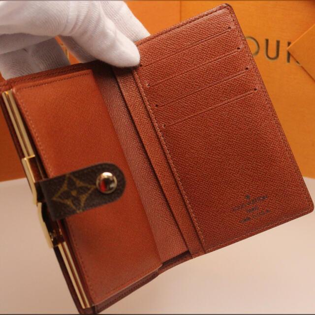 LOUIS VUITTON(ルイヴィトン)の✨新品未使用✨USAモデル❣️限界値下げ!ルイヴィトン がま口 折り財布 レディースのファッション小物(財布)の商品写真