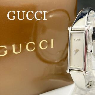 グッチ(Gucci)の新品仕上 新品電池 グッチ GUCCI 1500L 腕時計 バングル シルバー(腕時計)
