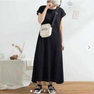 夢展望 - 【新品】夢展望 Tシャツワンピ黒・イング・コカ・ロペ・ビームス・フリークスストア