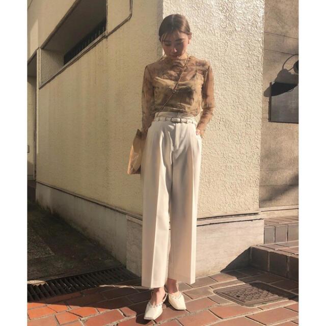 Ameri VINTAGE(アメリヴィンテージ)の AMERI SHAPELY HIGH WAIST PANTS レディースのパンツ(カジュアルパンツ)の商品写真