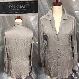 ダーバン(D'URBAN)のD'URBAN送料込ダーバン定価3万円程シルク絹シャツ ビジネススーツカジュアル(シャツ)