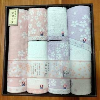 今治タオル - 今治タオル 桜おり布 タオルセット 新品