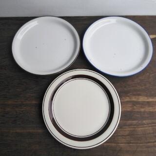 カネスズ サークルライン プレート皿 3枚セット(食器)