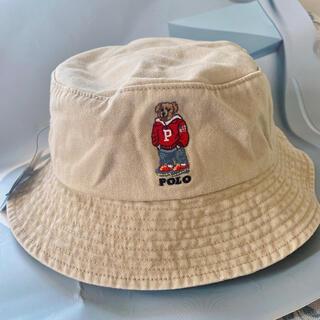 ポロラルフローレン ポロベア バケットハットベージュ レディースメンズ帽子