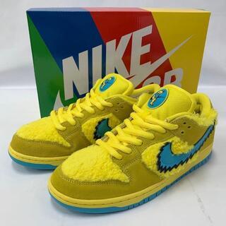 Nike SB ダンクlow プロ×グレイトフルデッド Opti Yellow(スニーカー)
