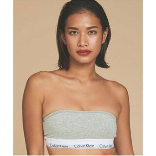 Calvin Klein - カルバンクライン ブラ チューブトップ