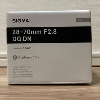 SIGMA - 新品 シグマ SIGMA 28-70mm F2.8 DG DN